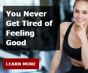 You Never Get Tired of Feeling Good