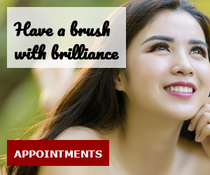 Have a brush with brilliance