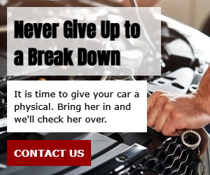 Never Give Up to a Break Down