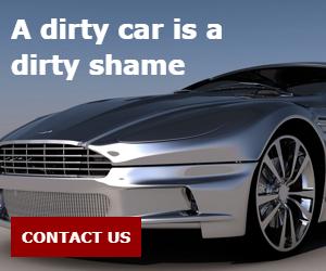 A dirty car is a dirty shame