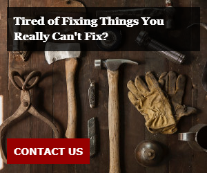 Tired of Fixing Things You Really Can't Fix?
