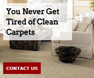 You Never Get Tired of Clean Carpets