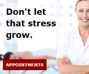 Don't let that stress grow.
