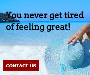 You never get tired of feeling great!