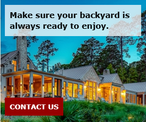 Make sure your backyard is always ready to enjoy.