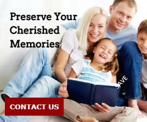 Preserve Your Cherished Memories