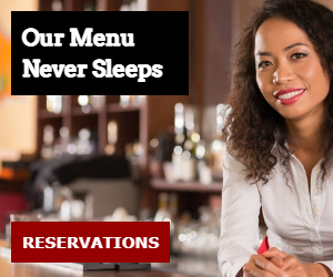 Our Menu Never Sleeps