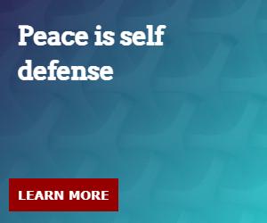 Peace is self defense