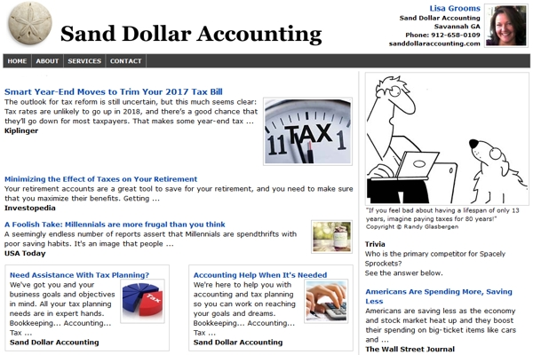 Email Newsletters For Accountants