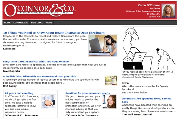 Email Newsletters For Insurance Agencies