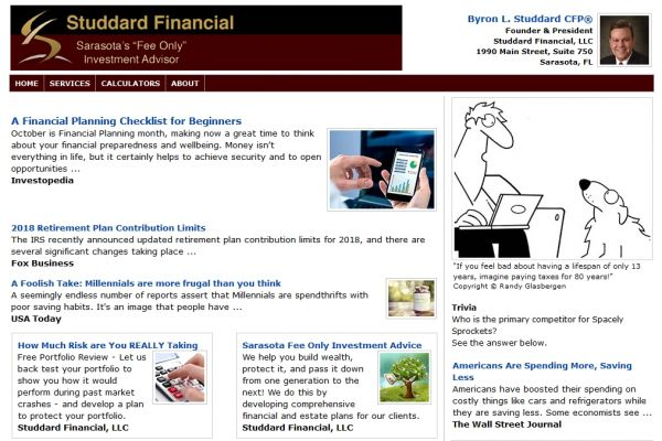 Email Newsletters For Financial Advisors