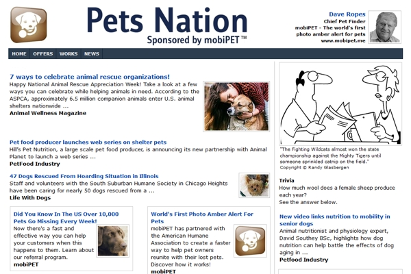 Email Newsletters For Pet Services