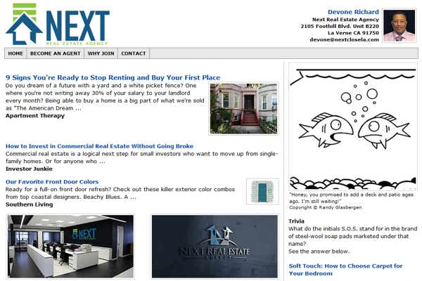 Email Newsletters For Real Estate Agents